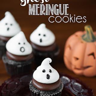 Ghost Meringue Cookies