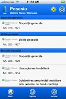 Screenshot of NOUL COD CIVIL: Despre Bunuri