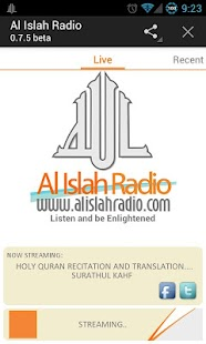 Al Islah Radio- screenshot thumbnail