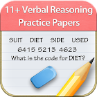 11+ Verbal Reasoning Papers icon