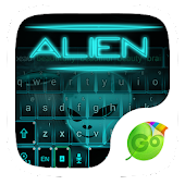 Alien Space GO Keyboard Theme