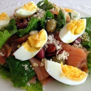 Smoked Salmon And Horseradish Salad