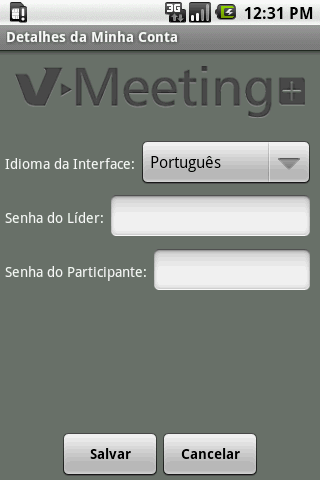 V-Meeting+ - screenshot