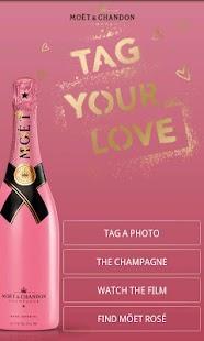 Tag Your Love by Moët Rosé - screenshot thumbnail