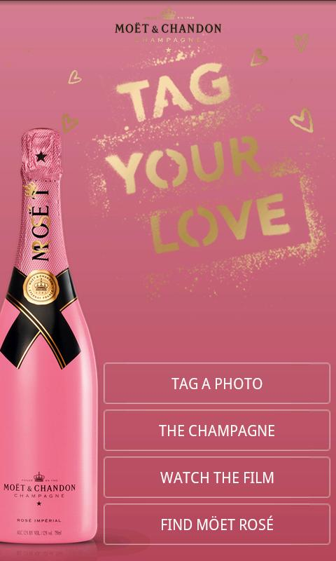 Tag Your Love by Moët Rosé - screenshot