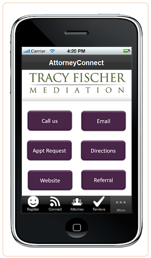 【免費商業App】Tracy Fischer Mediation-APP點子