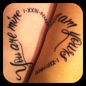 Couple Tattoo Designs