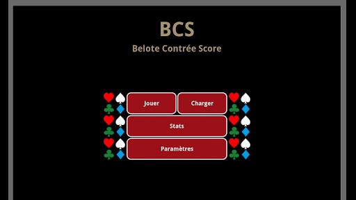 Belote Contrée Score