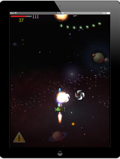 Space Blaster test app