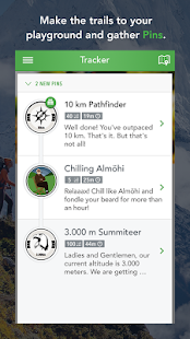 MAPtoHIKE - GPS Hiking Tracker- screenshot thumbnail