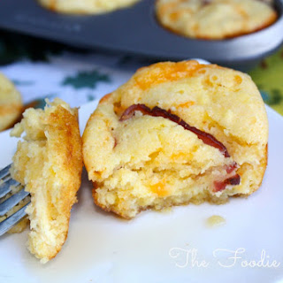 Bacon and Egg Breakfast Muffins.
