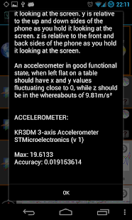 AndroSensor - screenshot thumbnail