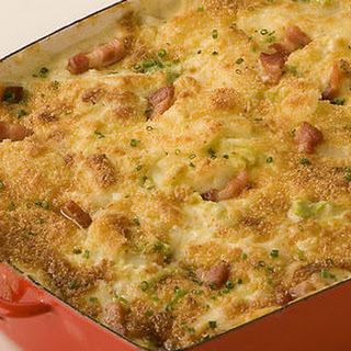 Cauliflower and Bacon Gratin