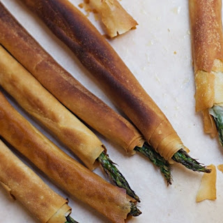 Phyllo-Wrapped Asparagus