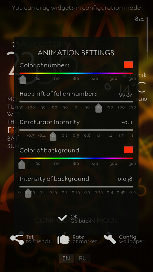Alive numbers 2 - screenshot