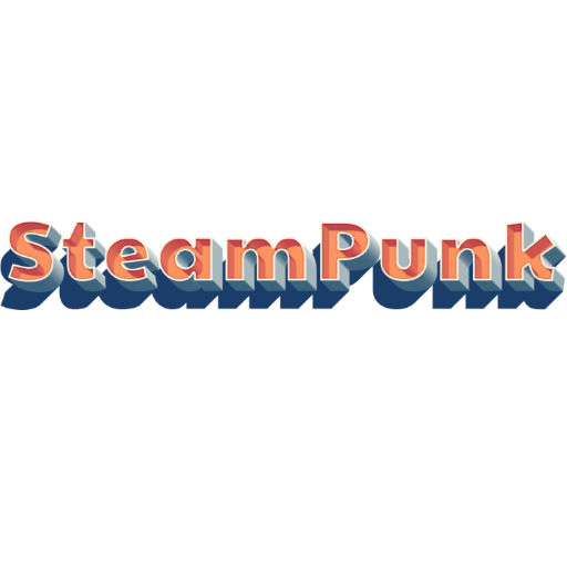 Steampunk LOGO-APP點子