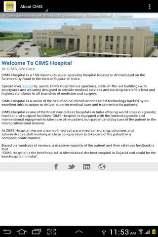 Radiology - CIMS Hospital