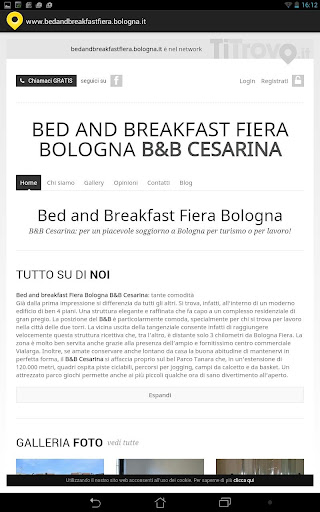 Bed Breakfast fiera Bologna