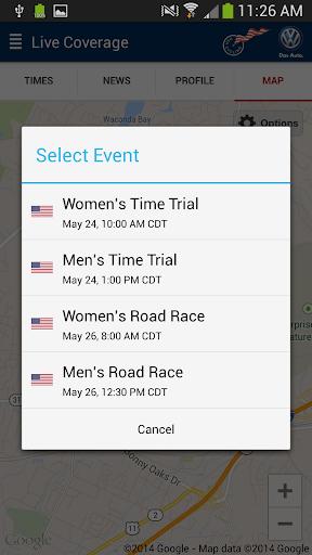 USA Cycling Pro Tour Tracker