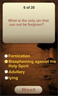 Bible Quiz Game - screenshot