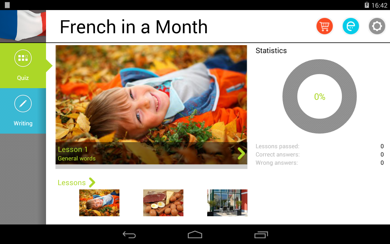 French in a Month Free - screenshot