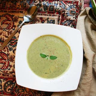 Broccoli & Almond Soup.
