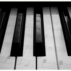 keys by Empty Deebee - Artistic Objects Musical Instruments
