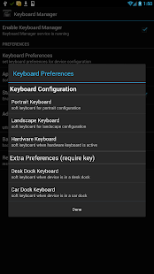 Keyboard Manager (root users) - screenshot thumbnail
