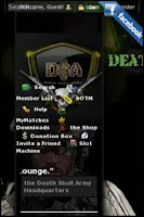 Screenshot of DEATHSKULLARMY.COM