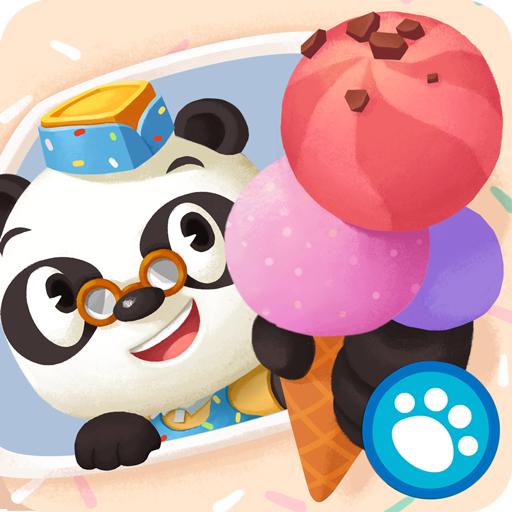 熊貓博士的冰淇淋車 LOGO-APP點子
