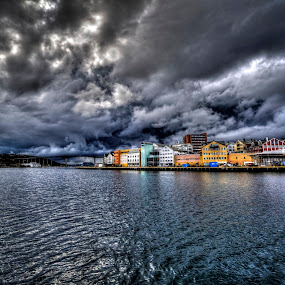 The perfect storm by Svein Hurum - Landscapes Weather