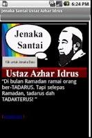 Screenshot of Jenaka Santai Ustaz Azhar