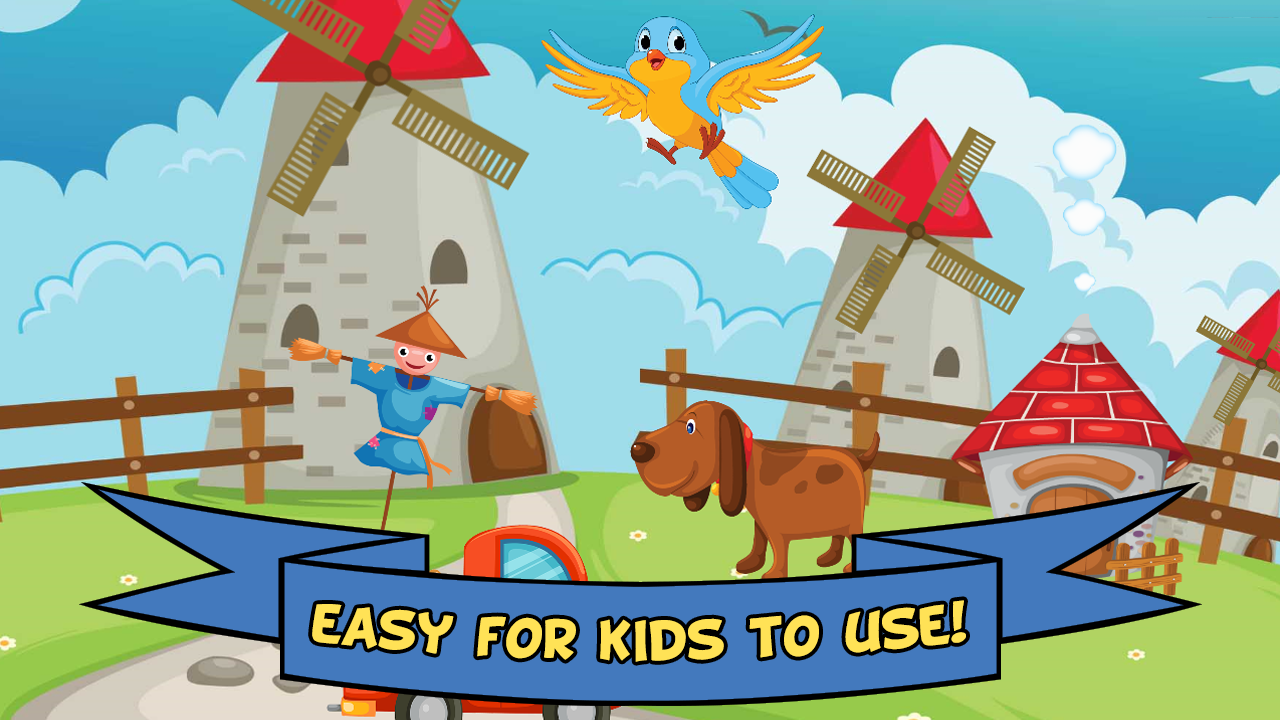 Barnyard Puzzles For Kids- screenshot