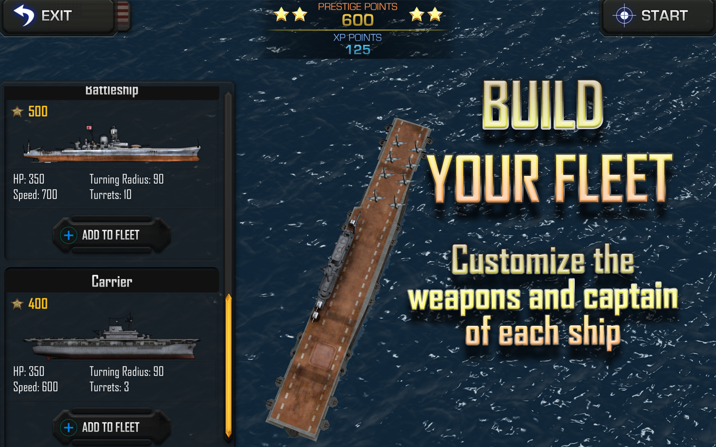 Battle Fleet 2- screenshot