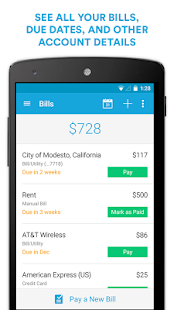 Mint Bills: Bill Pay & Money- screenshot thumbnail