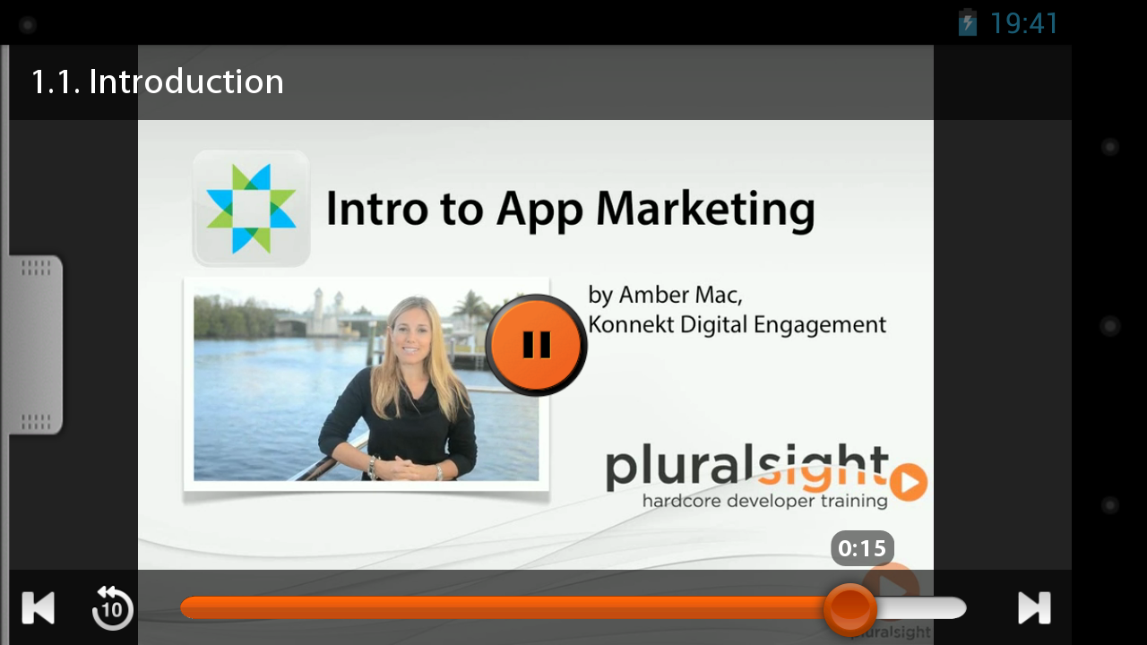 Pluralsight - screenshot