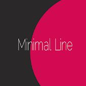 Minimal Line Style CM12 theme