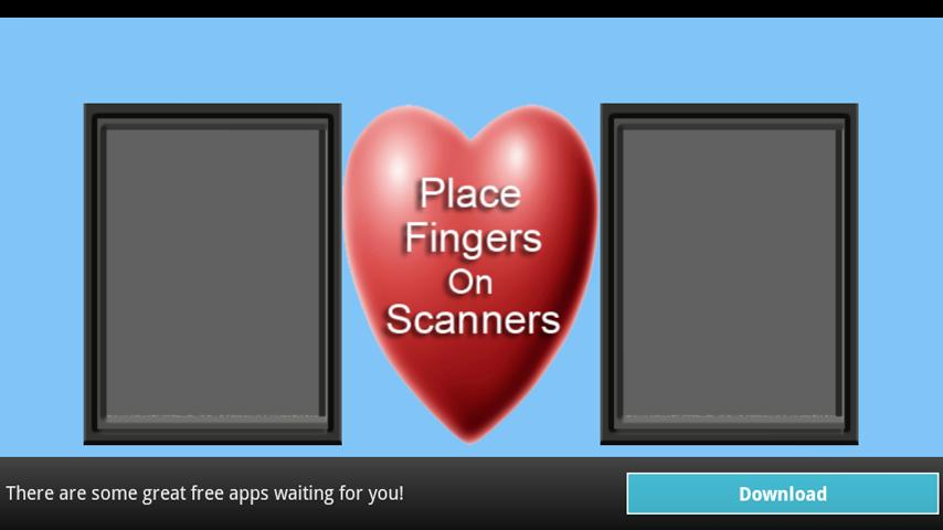 Love Test Scanner - screenshot