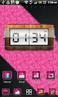 Screenshot of THEME - Pink Zebra Butterfly
