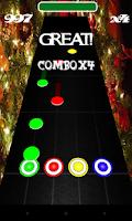 Screenshot of Hero of Guitar : Christmas