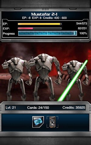 android Star Wars Force Collection Screenshot 4