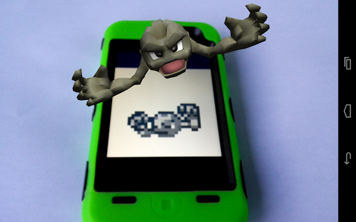 3D A.R. Pokedex: App 2