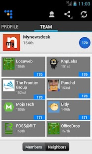 Coderwall Profiles- screenshot thumbnail