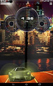 Cars Live Clock Wallpaper screenshot 3