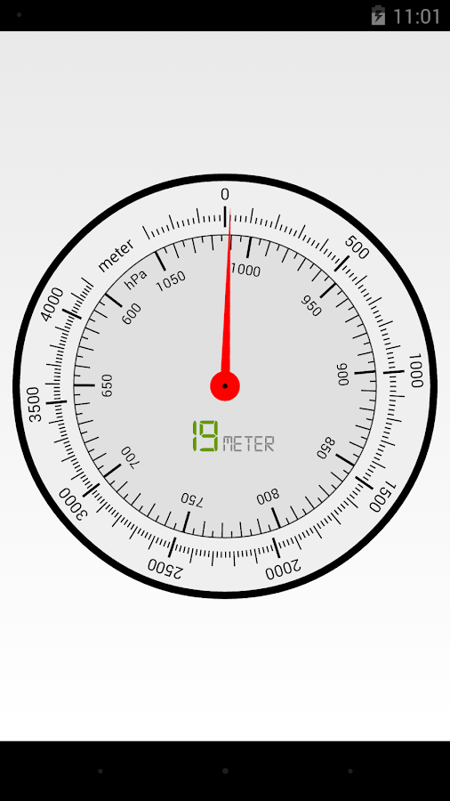 Barometer- screenshot