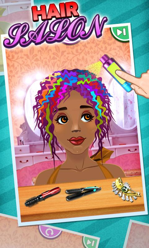 Hair Salon - Kids Games - screenshot