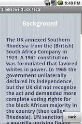 Zimbabwe Quick Facts