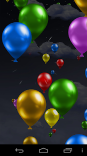 Balloons Live Wallpaper! - screenshot thumbnail
