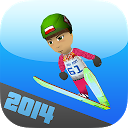Sochi Ski Jumping 3D Winter mobile app icon