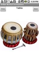 Screenshot of Indian Musical Instruments